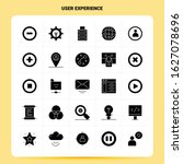 solid 25 user experience icon...