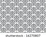 ottoman style wallpaper pattern ... | Shutterstock .eps vector #16270807