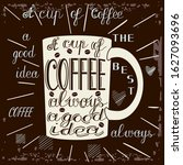 mug on which there is text a...   Shutterstock .eps vector #1627093696