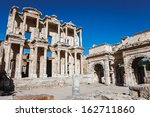 Ephesus Library Of Celcus In...
