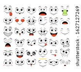 collection of emoticons with... | Shutterstock .eps vector #1627127269