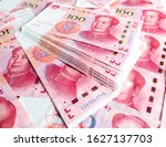chinese yuan as abstract... | Shutterstock . vector #1627137703