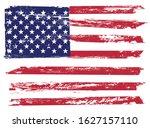 grunge american flag.vector...   Shutterstock .eps vector #1627157110