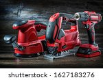 Electric Hand Tools Red Corded...