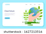 keep earth clean idea. recycle... | Shutterstock .eps vector #1627213516