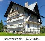 house having thermal... | Shutterstock . vector #162723368