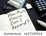 Small photo of How much house can i afford question and model of home.