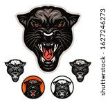 angry panther head vector... | Shutterstock .eps vector #1627246273