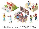 coffeehouse  cafe or coffee...   Shutterstock .eps vector #1627310746