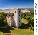 Church Ruins With Landscape Of...
