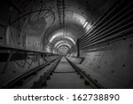 underground nuclear shelter for ... | Shutterstock . vector #162738890