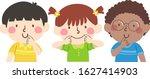 illustration of kids students... | Shutterstock .eps vector #1627414903