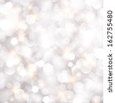 glittery lights silver abstract ... | Shutterstock . vector #162755480