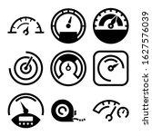 Gauge Icon Or Logo Isolated...