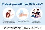 coronavirus covid 19 outbreak... | Shutterstock .eps vector #1627607923