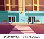 traffic light and pedestrian... | Shutterstock .eps vector #1627690633