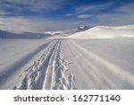 Cross Country Skiing Trail At...