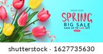 Spring Big Sale Card With...