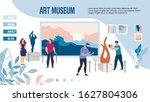 responsive landing page... | Shutterstock .eps vector #1627804306