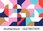 scandinavian inspired artwork... | Shutterstock .eps vector #1627847059