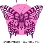 beautiful butterfly t shirt... | Shutterstock . vector #1627862443