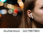 Girl S Ear In Which The Airpod...