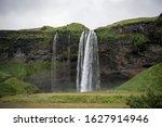 Famous Seljalandsfoss Waterfall ...