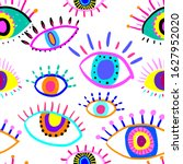 bright seamless pattern with... | Shutterstock .eps vector #1627952020