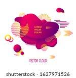 template of flyer or banner... | Shutterstock .eps vector #1627971526