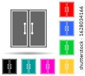 double door multi color style...