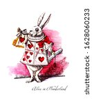 White Rabbit  Dressed As Herald ...