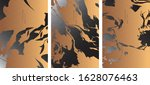 black and gold design templates ... | Shutterstock .eps vector #1628076463