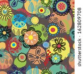 Bright Floral Seamless Pattern...