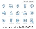 smart home icons  such as... | Shutterstock .eps vector #1628186593