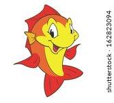 cartoon fish for design element | Shutterstock .eps vector #162823094
