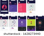 fitness app ui kit with music...