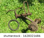 Rusted And Broken Kids Tricycle ...