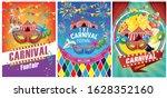 set of graphics for carnival... | Shutterstock .eps vector #1628352160