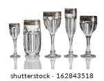 empty glass isolated  | Shutterstock . vector #162843518