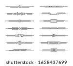 modern dividers vector set of...