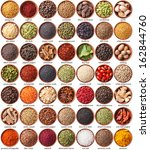 large collection of different... | Shutterstock . vector #162844760