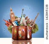 tourism | Shutterstock . vector #162845138