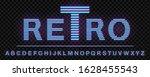 80's and 90's retro neon light...   Shutterstock .eps vector #1628455543