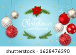 merry christmas and new year...   Shutterstock . vector #1628476390