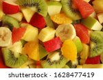 Colorful Fruit Salad Made With...