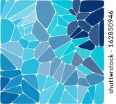 blue colorful mosaic pattern.... | Shutterstock .eps vector #162850946