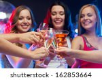 party  celebration  friends ... | Shutterstock . vector #162853664