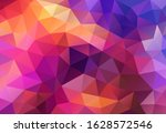 vector background from polygons ... | Shutterstock .eps vector #1628572546