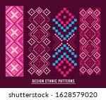 ethnic pattern design... | Shutterstock .eps vector #1628579020