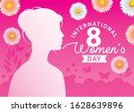 international women's day with... | Shutterstock .eps vector #1628639896